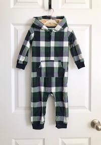 Carters fleece baby boy jumpsuit size 18 months  Mississauga, L5M 0H2