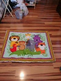 two red and yellow bird print area rugs West Kelowna, V4T 1E2