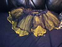 Black and Yellow Sparkling TuTu