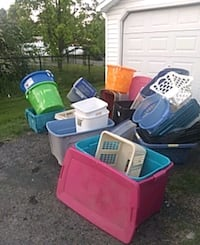 Containers.  All sizes. $1 each Allentown, 18103