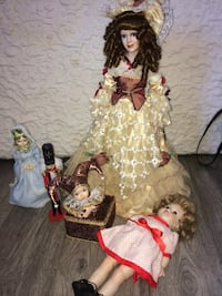brown and white dressed female doll Manassas, 20109