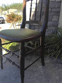 round brown wooden table with two chairs Orange Park, 32065