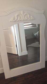 white wooden cabinet with mirror Calgary, T2A 1L1