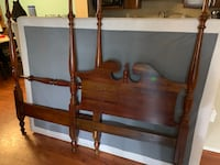 Solid Cherry Wood -twin size bedroom suit (poster bed, dresser, mini chest) Alexandria, 22304