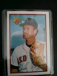 Boston Red Sox trading card