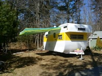 1963 Vintage Yellowstone Camper Lemon Lilly