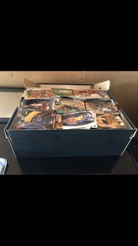 Lots of basketball cards