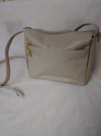 Giani Bernini Leather Faux Ostrich Crossbody Purse Henderson, 89015