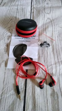 Brand New Earbuds With Travel Case Frederick