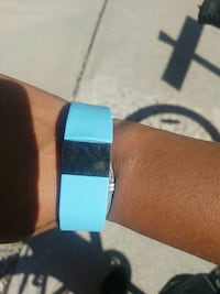 blue and black fitbit watch Calgary