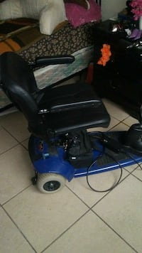 black and blue motorized wheelchair Stockton, 95210