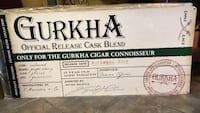 Tin Gurkha Cigars sign  Severna Park, 21146