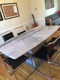 Marble Dinning Table plus 6 chairs  Potomac, 20854