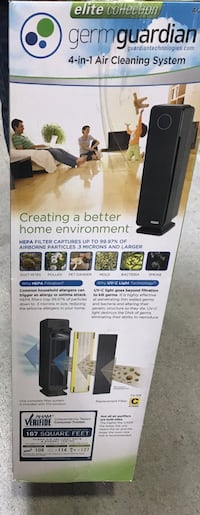Germ guardian 4 in 1 air purifier Pickering