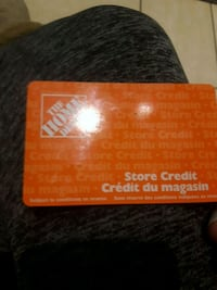 $342 Home depot credit for $280obo      Call or text  [TL_HIDDEN]  Calgary, T2H 0K8