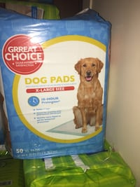 Pack of 50 dog pee pads