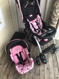 Minnie Mouse stroller travel system Herndon, 20171