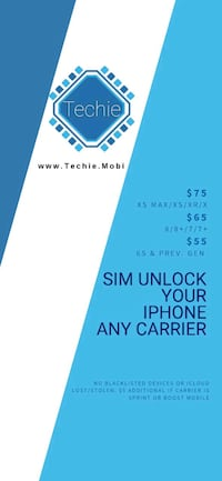 iPhone X Carrier Unlocking Service Round Lake, 60073