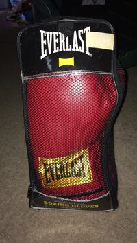 Pair of red Everlast boxing gloves Waldorf, 20601