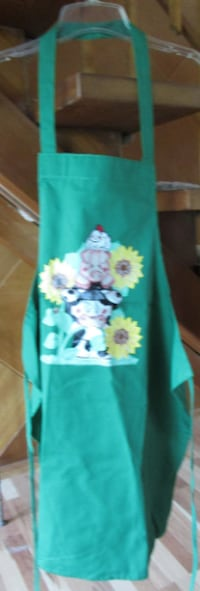 Hand-painted Apron--NEW Derby