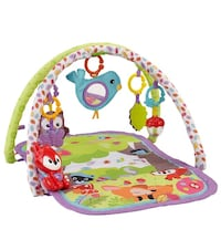 Fisher-Price 3-in-1 Musical Activity Gym, Woodland Friends Chesapeake, 23323