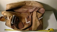 Bath & body works suede tan overnight bag Columbus, 43229