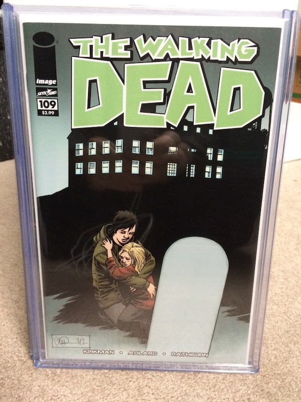 Used The Walking Dead Frame Poster For Sale In Wasaga Beach Letgo