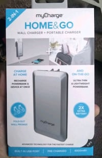 wall charger/portable charger Lincoln