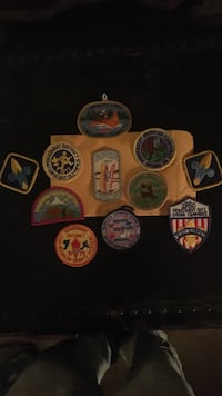 Vintage Boy Scout patches  Islip, 11717