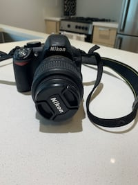 Nikon D3100 with 18-55 mm lens Vancouver, V6B