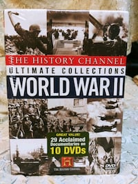 Brand New History Channel Ultimate Collections: World War II Mount Ephraim, 08059