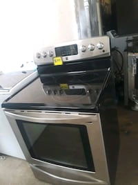 gray and black induction range oven Baltimore, 21223
