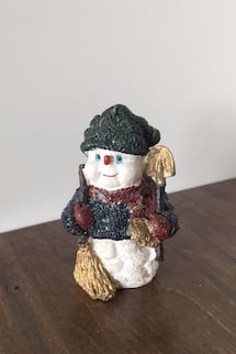 Christmas snowman decor