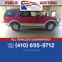 2005 Ford Expedition Joppa, 21085
