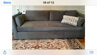 Solid gray comfortable sofa! Kensington, 20895