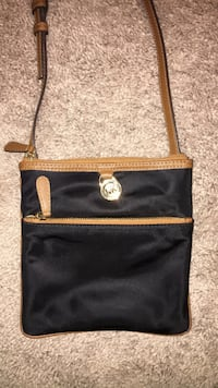 Black and brown crossbody bag Michael Kors Sanford, 27330