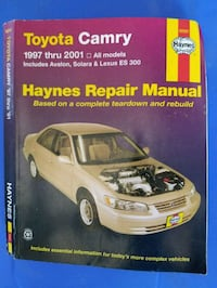 97 - 2001  TOYOTA CAMRY HAYNES REPAIR MANUAL Hammond, 70401
