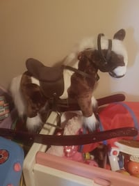 toddler's brown and white horse rocker Barrie, L4N 7P6