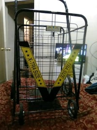 over size push cart