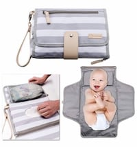 New Portable Changing Pad Baby Diaper Station, Clutch Bag Travel Kit