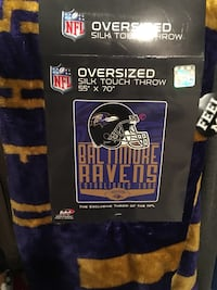 NFL oversized silk touch throw Odenton, 21113