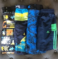 Size SMALL / 4 x Boys Bathing suits