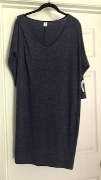 women's gray scoop-neck shirt Rockville, 20850