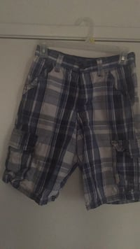 Boys Plaid Light Blue Shorts Size 14 Regular Palmdale, 93552