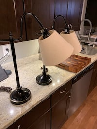 Hunter lamps (set) excellent condition. PRICE FIRM  Baltimore, 21231