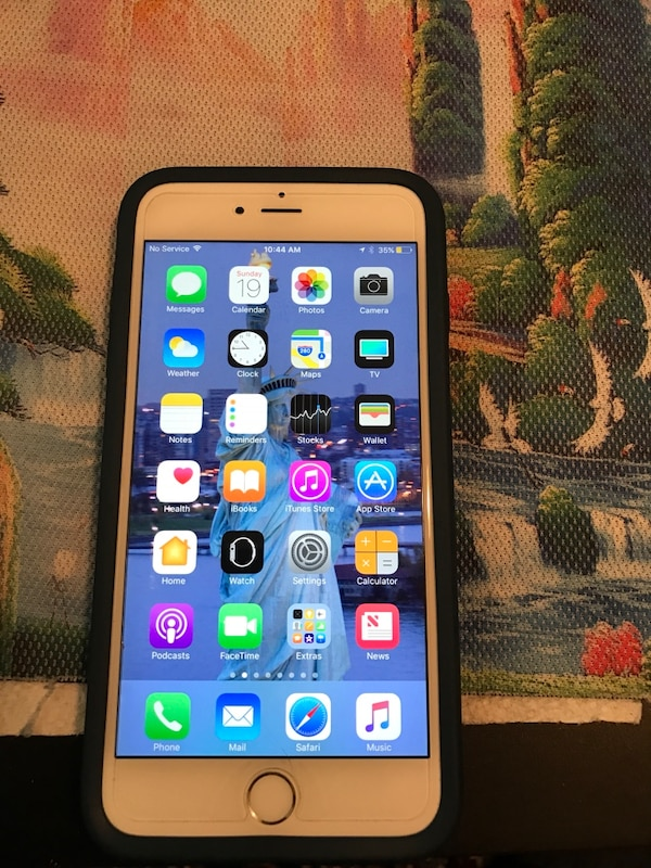Used Iphone 6s Plus Silver 128gb For Sale In New York Letgo