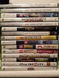 Xbox 360 Games-Lot of 15 Jessup, 20794