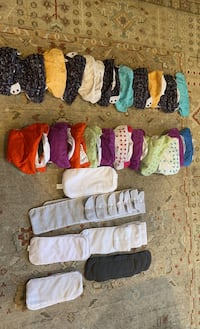 BumGenius cloth diapers complete set