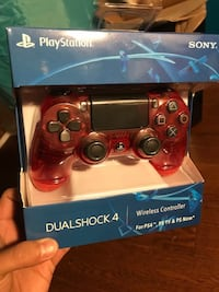 SonyPS4 DualShock 4 Controller Red Crystal