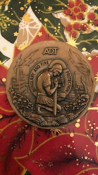 A.D.T. burglary and fire protection badge Los Angeles, 91331